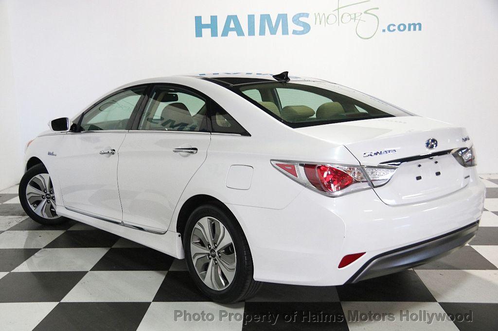 2014 Hyundai Sonata Hybrid 4dr Sedan Limited - 17069642 - 4