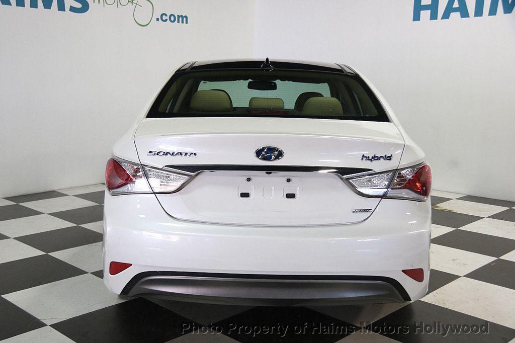 2014 Hyundai Sonata Hybrid 4dr Sedan Limited - 17069642 - 5