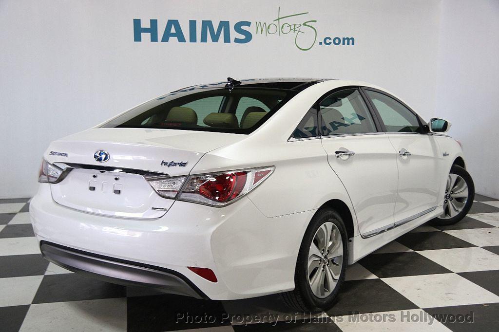 2014 used hyundai sonata hybrid 4dr sedan limited at haims