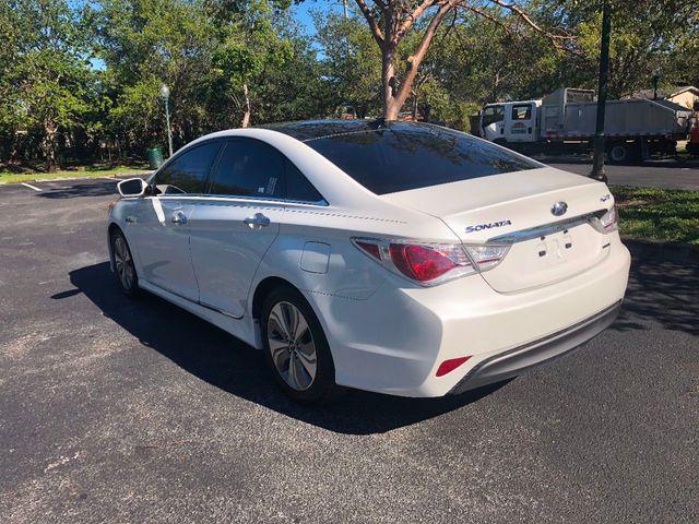 2014 used hyundai sonata hybrid 4dr sedan limited at a