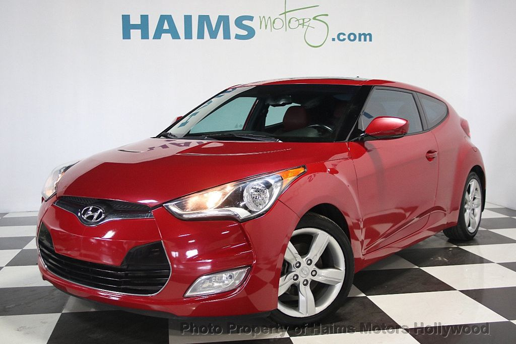 2014 Used Hyundai Veloster 3dr Coupe Automatic Re Flex W