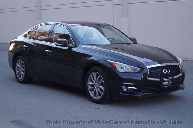 2014 INFINITI Q50 4dr Sedan AWD - Click to see full-size photo viewer