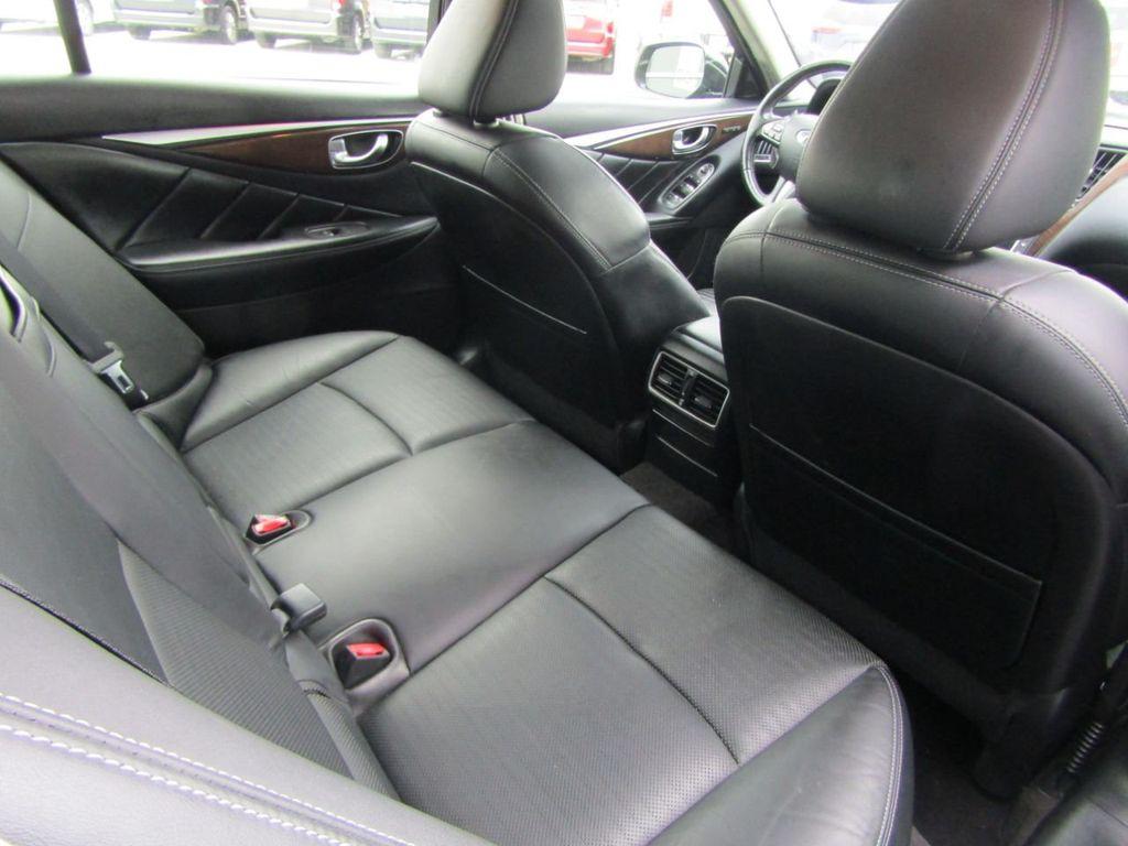 2014 INFINITI Q50 4dr Sedan AWD Sport - 18508983 - 35