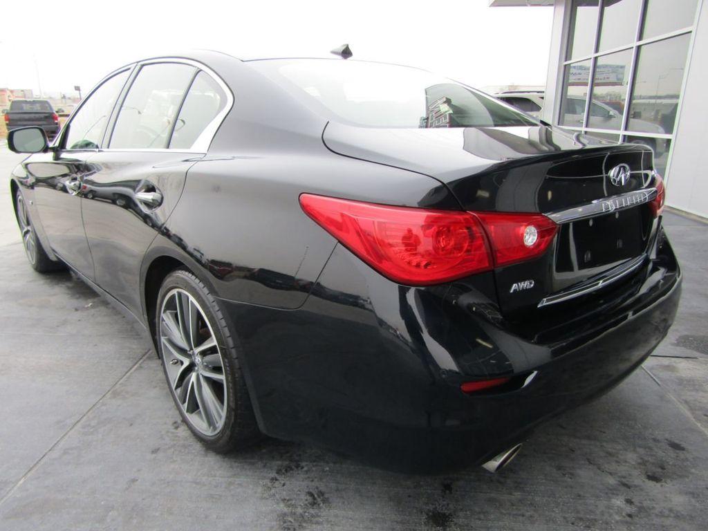 2014 INFINITI Q50 4dr Sedan AWD Sport - 18508983 - 3