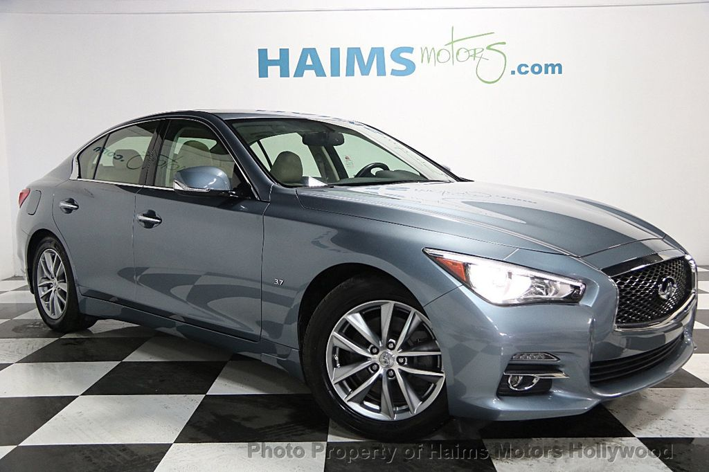 2014 used infiniti q50 4dr sedan rwd at haims motors serving fort lauderdale hollywood miami. Black Bedroom Furniture Sets. Home Design Ideas