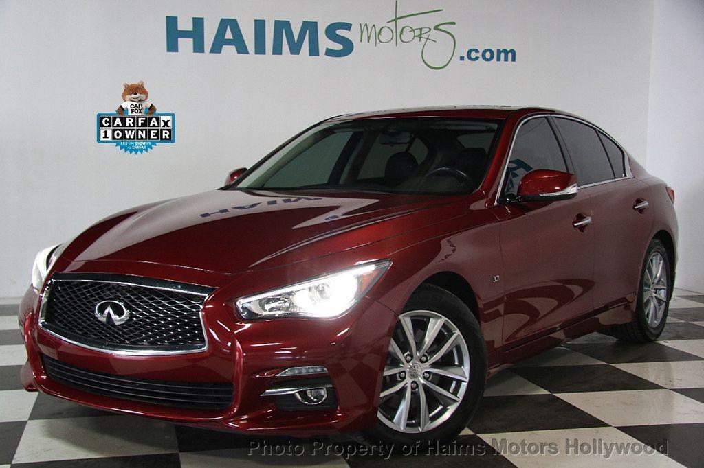 2014 INFINITI Q50 4dr Sedan RWD - 17174092 - 0