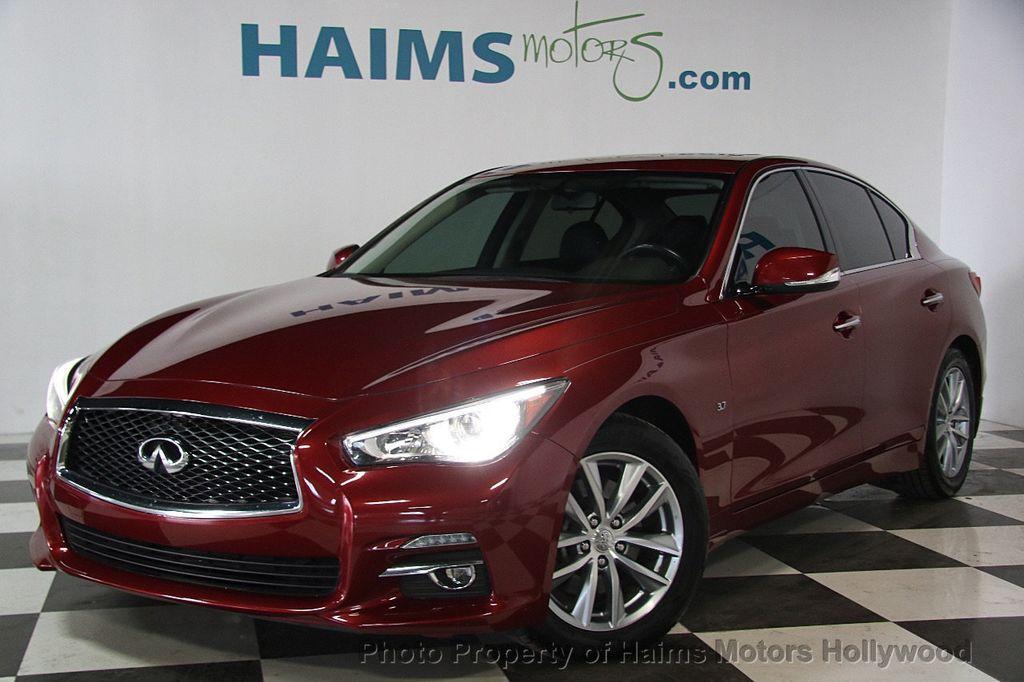 2014 INFINITI Q50 4dr Sedan RWD - 17174092 - 1