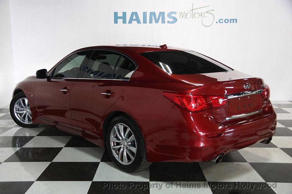 2014 INFINITI Q50 4dr Sedan RWD - 17174092 - 4
