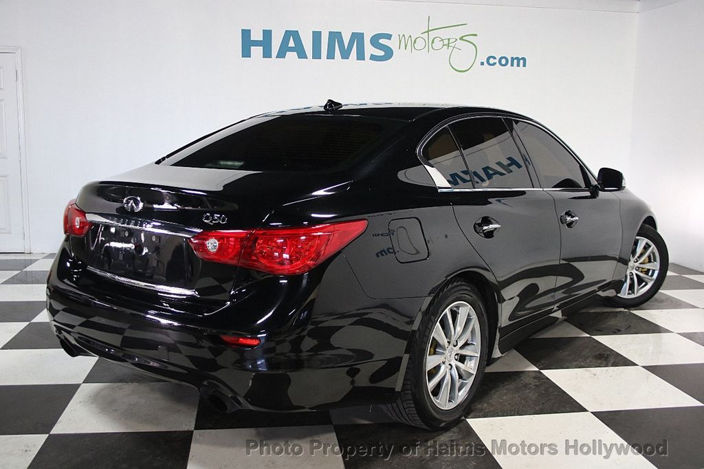2014 used infiniti q50 4dr sedan rwd sport at haims motors. Black Bedroom Furniture Sets. Home Design Ideas