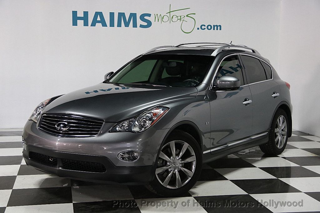 2014 used infiniti qx50 rwd 4dr at haims motors serving fort lauderdale hollywood miami fl. Black Bedroom Furniture Sets. Home Design Ideas