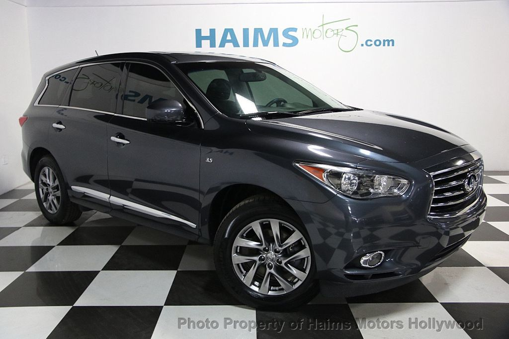 2014 used infiniti qx60 fwd 4dr at haims motors ft. Black Bedroom Furniture Sets. Home Design Ideas