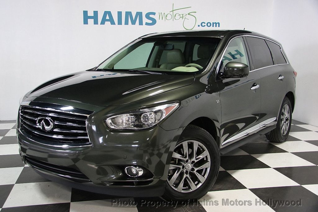 2014 used infiniti qx60 fwd 4dr at haims motors serving fort lauderdale hollywood miami fl. Black Bedroom Furniture Sets. Home Design Ideas