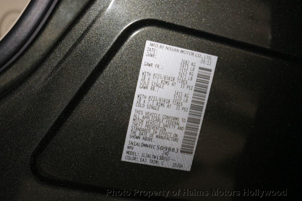 2014 INFINITI QX60 FWD 4dr - 18658441 - 35