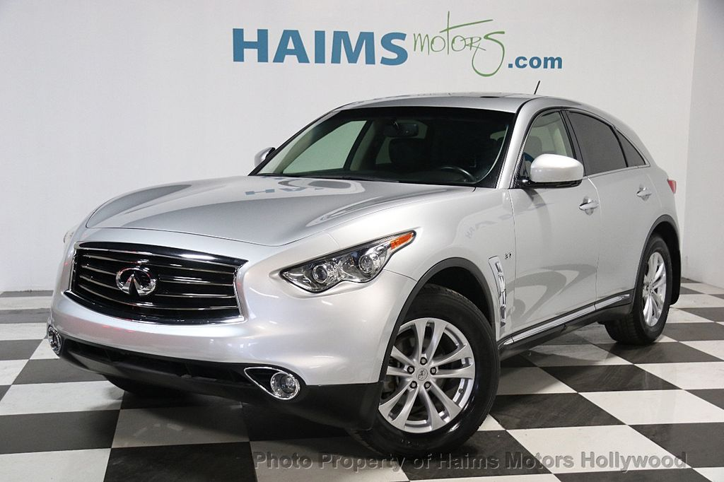 2014 Used Infiniti Qx70 Rwd 4dr At Haims Motors Serving Fort