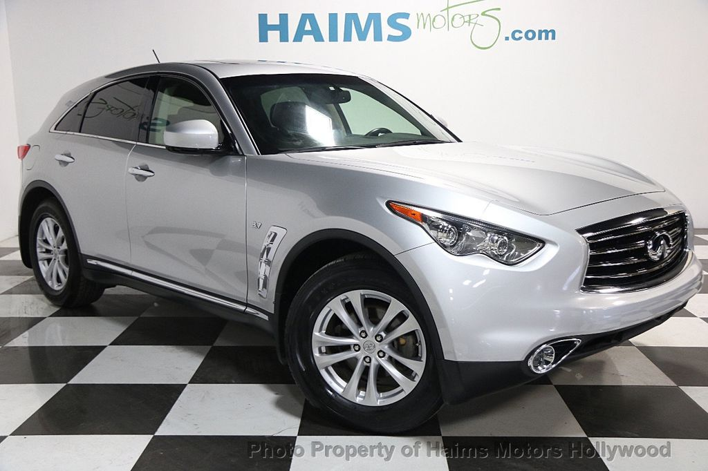 2014 used infiniti qx70 rwd 4dr at haims motors serving fort lauderdale hollywood miami fl. Black Bedroom Furniture Sets. Home Design Ideas