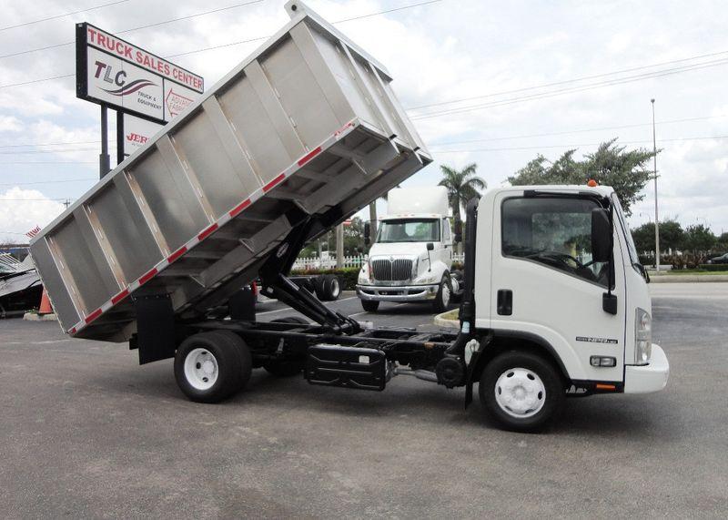 Used Dump Trucks >> 2014 Used Isuzu Npr Hd 14ft Alum Trash Dump Truck New Ad Fab Dump Body At Tri Leasing Corp Serving Pompano Beach Fl Iid 18873487