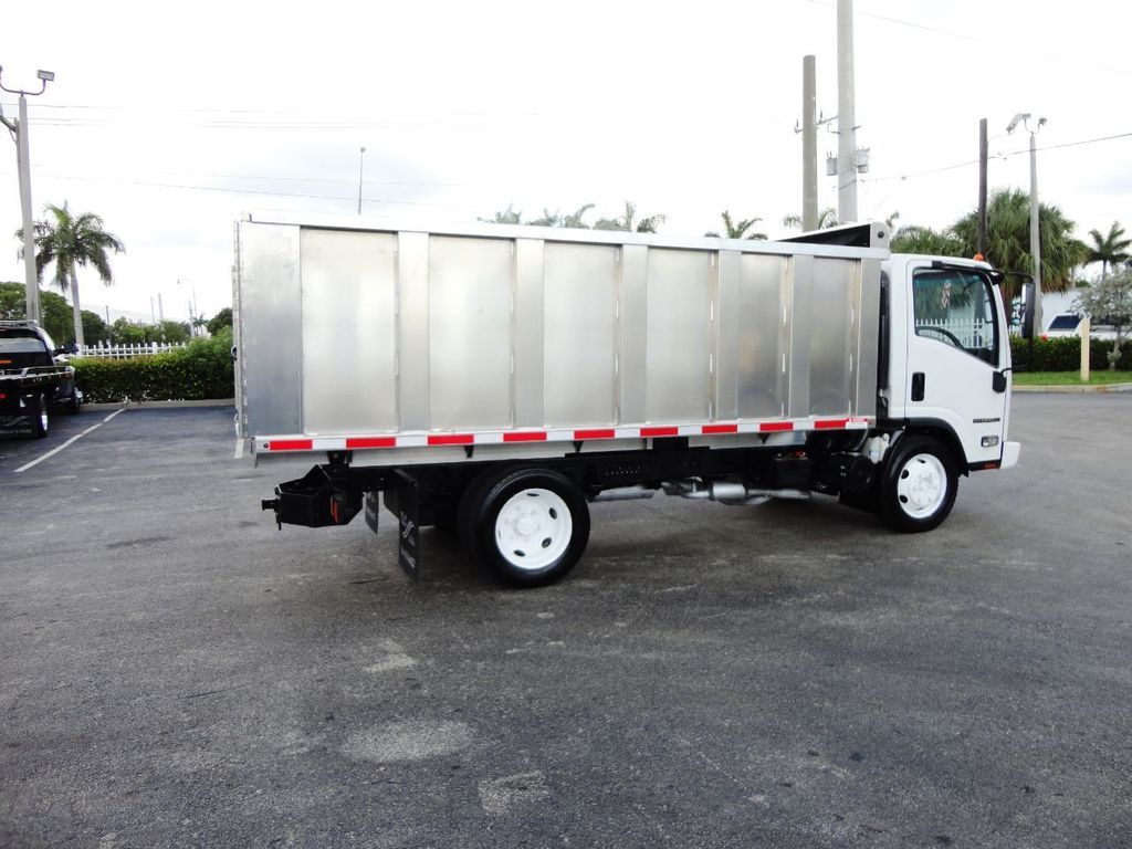 2014 Isuzu NPR HD 14FT ALUM TRASH DUMP TRUCK...NEW AD FAB DUMP BODY. - 19105430 - 9