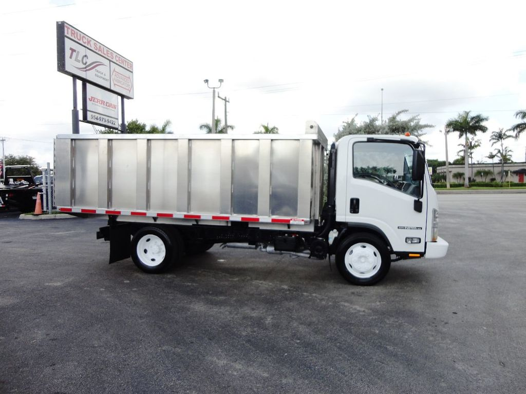 2014 Isuzu NPR HD 14FT ALUM TRASH DUMP TRUCK...NEW AD FAB DUMP BODY. - 19105430 - 10