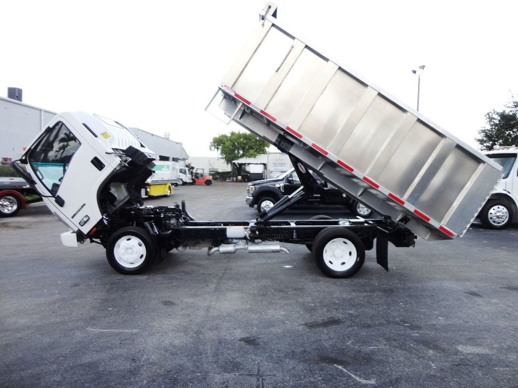 2014 Isuzu NPR HD 14FT ALUM TRASH DUMP TRUCK...NEW AD FAB DUMP BODY. - 19105430 - 11