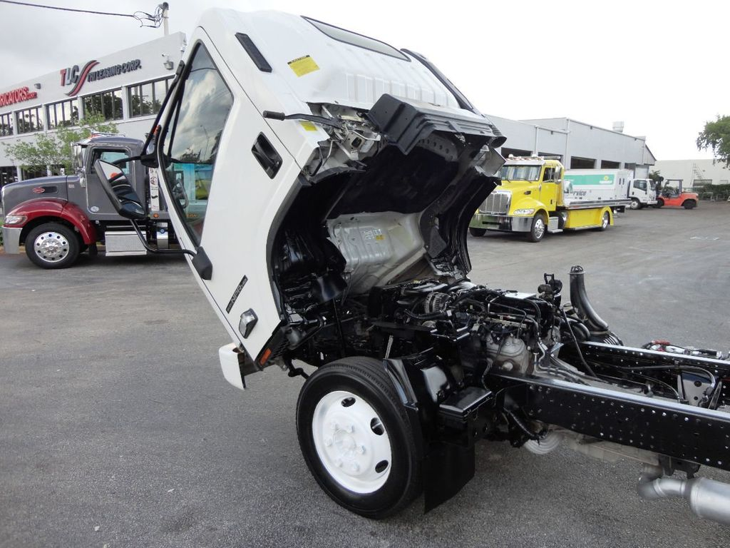 2014 Isuzu NPR HD 14FT ALUM TRASH DUMP TRUCK...NEW AD FAB DUMP BODY. - 19105430 - 12