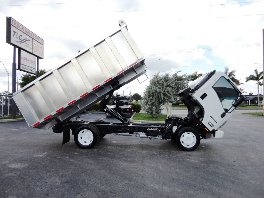 2014 Isuzu NPR HD 14FT ALUM TRASH DUMP TRUCK...NEW AD FAB DUMP BODY. - 19105430 - 20
