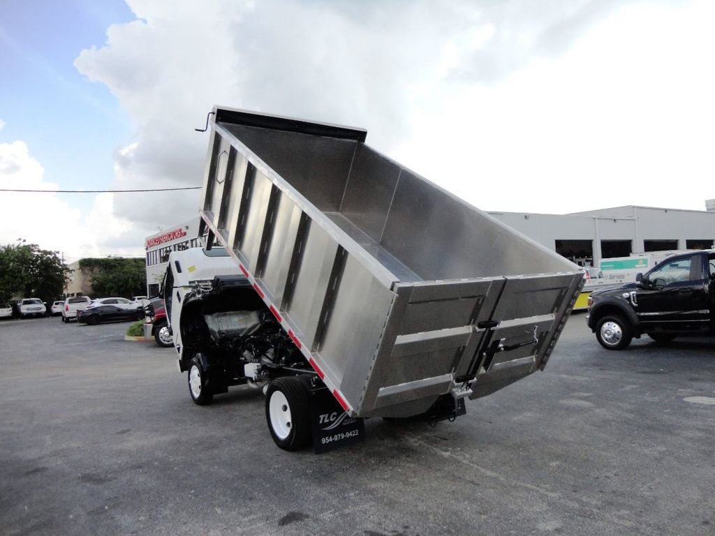 2014 Isuzu NPR HD 14FT ALUM TRASH DUMP TRUCK...NEW AD FAB DUMP BODY. - 19105430 - 23
