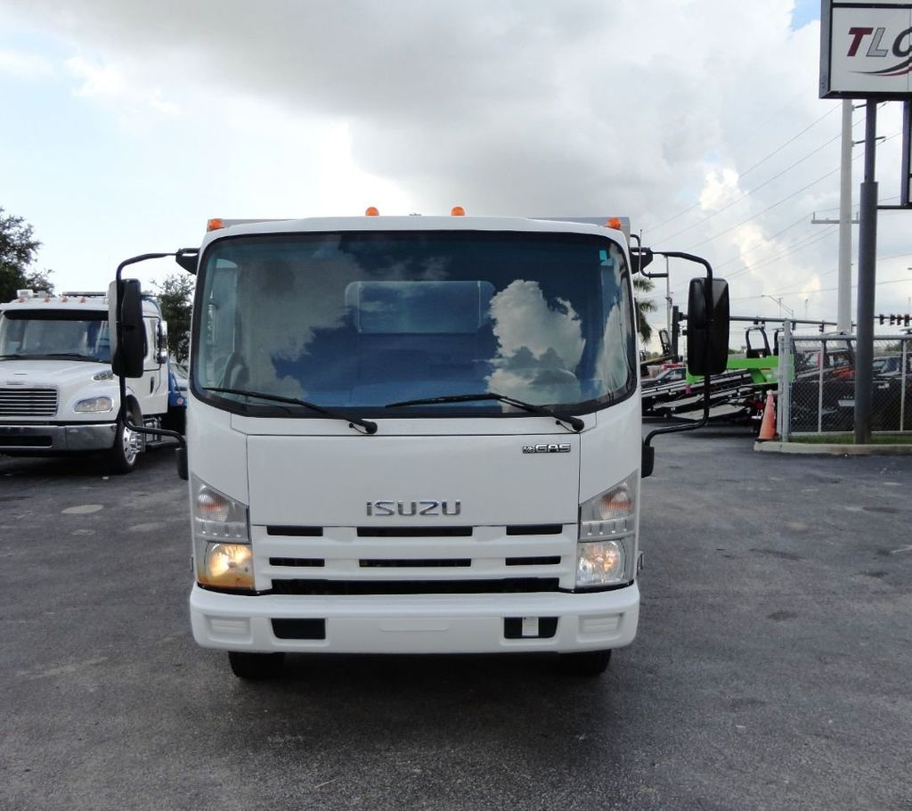 2014 Isuzu NPR HD 14FT ALUM TRASH DUMP TRUCK...NEW AD FAB DUMP BODY. - 19105430 - 2