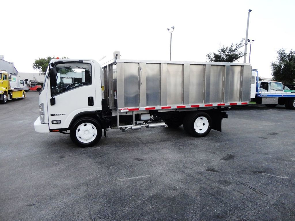 2014 Isuzu NPR HD 14FT ALUM TRASH DUMP TRUCK...NEW AD FAB DUMP BODY. - 19105430 - 4