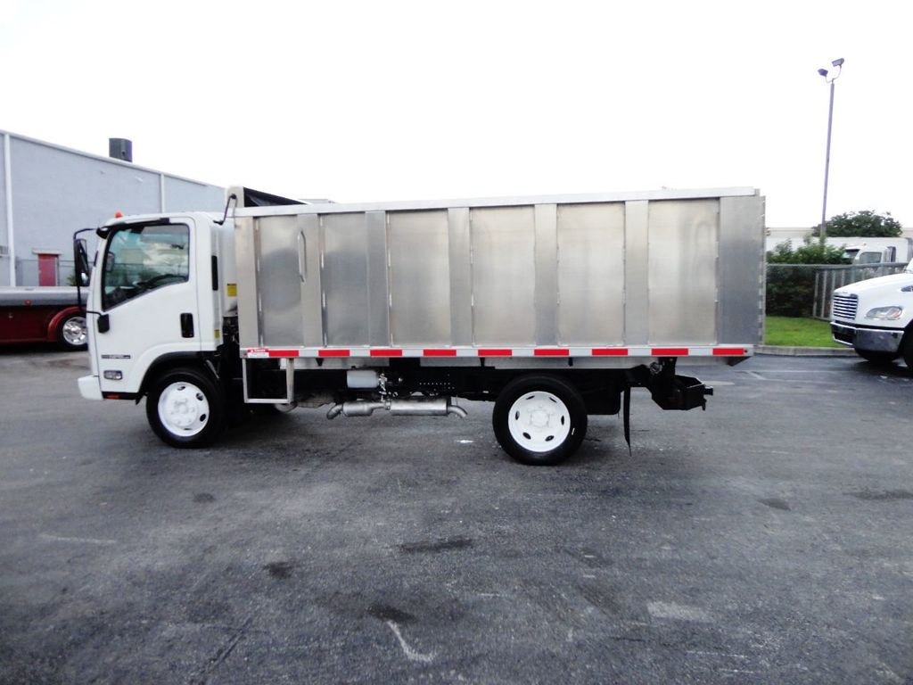 2014 Isuzu NPR HD 14FT ALUM TRASH DUMP TRUCK...NEW AD FAB DUMP BODY. - 19105430 - 5