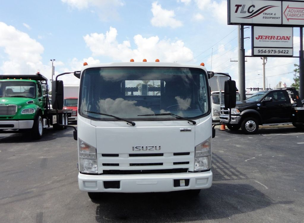 2014 Isuzu NPR HD 16FT FLATBED STAKE BED WITH LIFTGATE..STAKE TRUCK. - 17742657 - 2