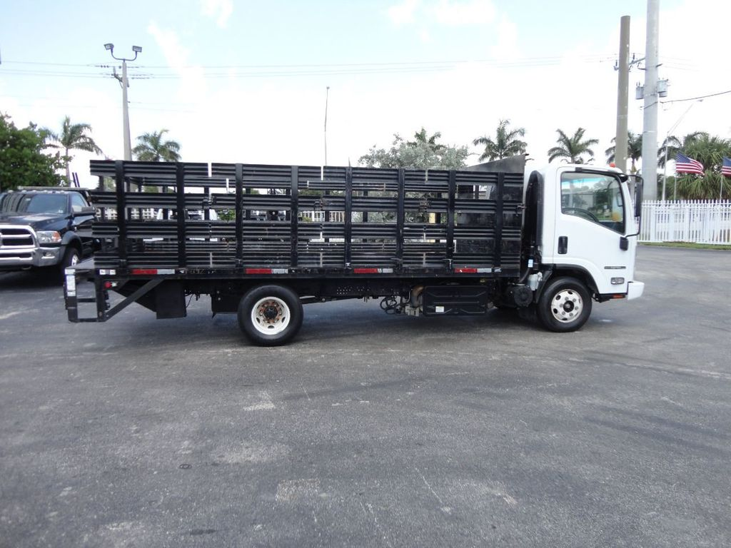 2014 Isuzu NPR HD 16FT FLATBED STAKE BED WITH LIFTGATE..STAKE TRUCK. - 17742657 - 5