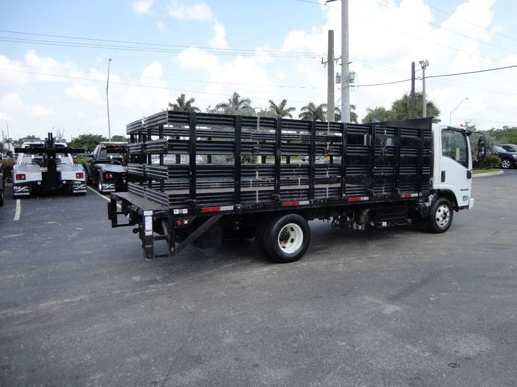2014 Isuzu NPR HD 16FT FLATBED STAKE BED WITH LIFTGATE..STAKE TRUCK. - 17742657 - 6