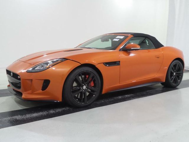 2014 Jaguar F-TYPE 2dr Convertible V8 S