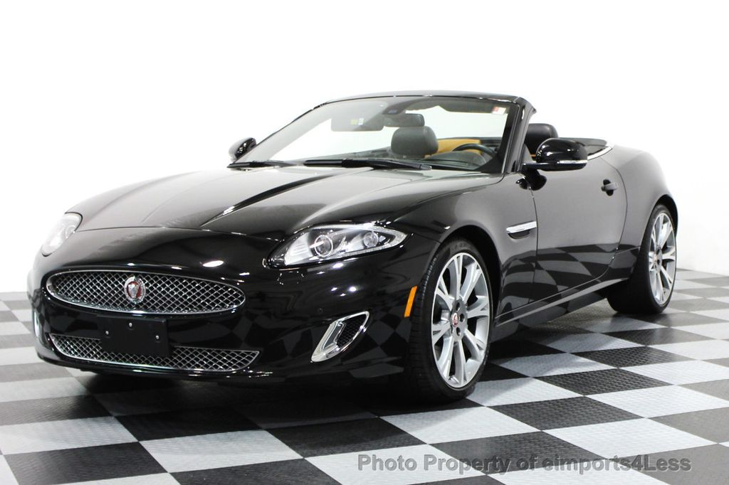 2014 Jaguar XK CERTIFIED XK CONVERTIBLE - 16007899 - 0