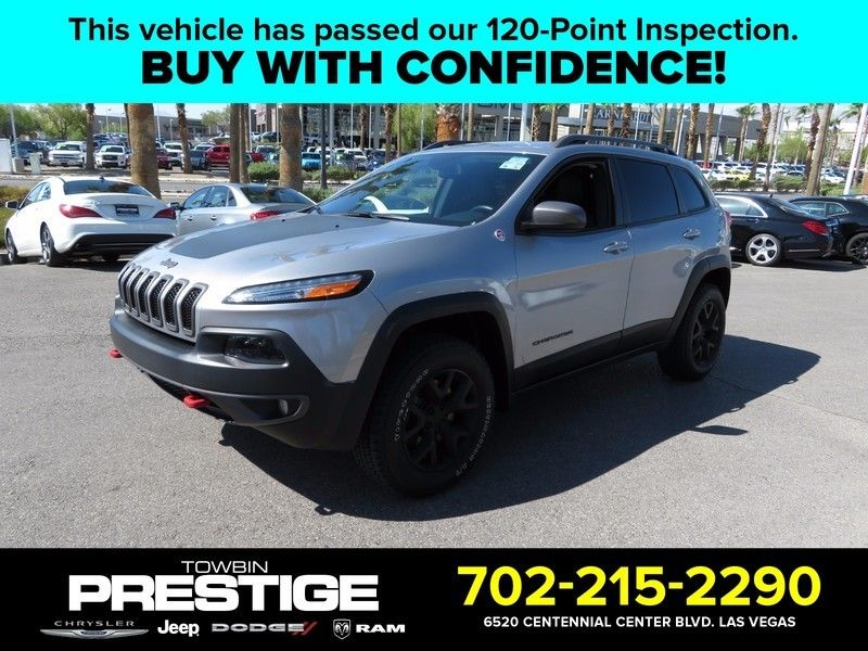 2014 Jeep Cherokee 4WD 4dr Trailhawk - 16831783 - 0