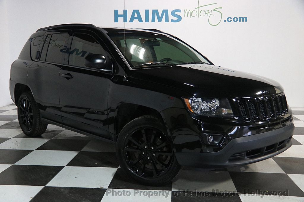 2014 used jeep compass fwd 4dr altitude at haims motors. Black Bedroom Furniture Sets. Home Design Ideas