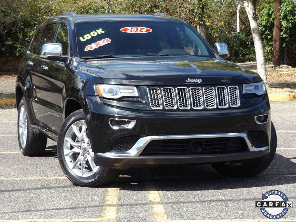 2014 Jeep Grand Cherokee 4WD 4dr Summit - 18601100 - 0