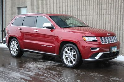 2014 Jeep Grand Cherokee 4WD SUMMIT LEATHER NAVIGATION MOONROOF...MUCH MORE!!! SUV