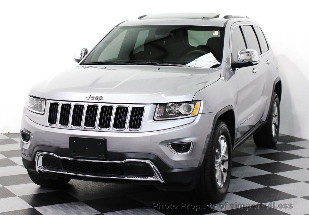 2014 used jeep grand cherokee certified grand cherokee 4wd v8 limited camera navigation at. Black Bedroom Furniture Sets. Home Design Ideas