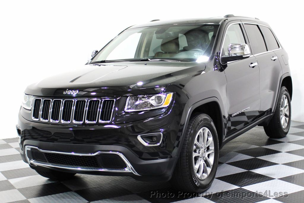 2014 used jeep grand cherokee certified grand cherokeee 4x4 v6 limited camera navi at. Black Bedroom Furniture Sets. Home Design Ideas