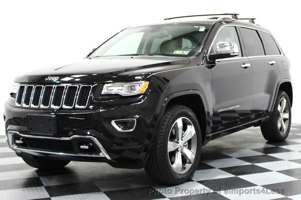 2014 Jeep Grand Cherokee CERTIFIED JEEP GRAND CHEROKEE V6 4WD OVERLAND    16212549   0