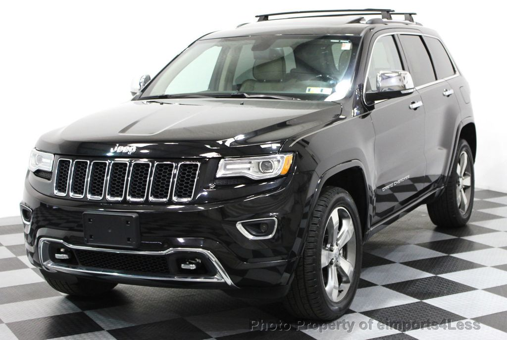 2014 Jeep Grand Cherokee CERTIFIED JEEP GRAND CHEROKEE V6 4WD OVERLAND - 16212549 - 13