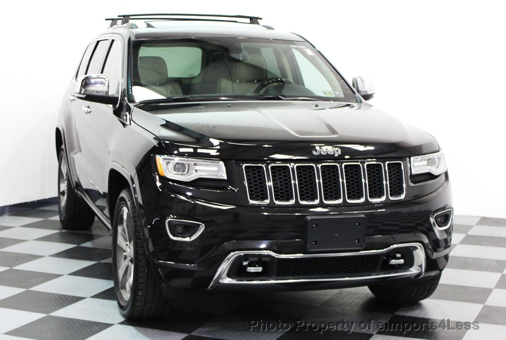 2014 Jeep Grand Cherokee CERTIFIED JEEP GRAND CHEROKEE V6 4WD OVERLAND - 16212549 - 14
