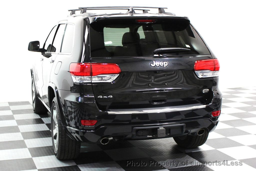 2014 Jeep Grand Cherokee CERTIFIED JEEP GRAND CHEROKEE V6 4WD OVERLAND - 16212549 - 17