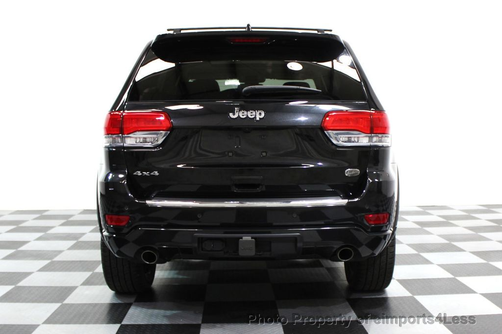 2014 Jeep Grand Cherokee CERTIFIED JEEP GRAND CHEROKEE V6 4WD OVERLAND - 16212549 - 18