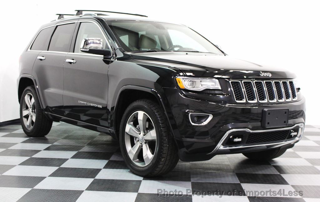 2014 Jeep Grand Cherokee CERTIFIED JEEP GRAND CHEROKEE V6 4WD OVERLAND - 16212549 - 1