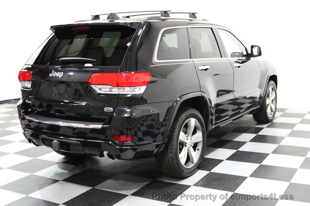 2014 Jeep Grand Cherokee CERTIFIED JEEP GRAND CHEROKEE V6 4WD OVERLAND - 16212549 - 19