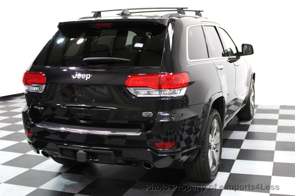 2014 Jeep Grand Cherokee CERTIFIED JEEP GRAND CHEROKEE V6 4WD OVERLAND - 16212549 - 20