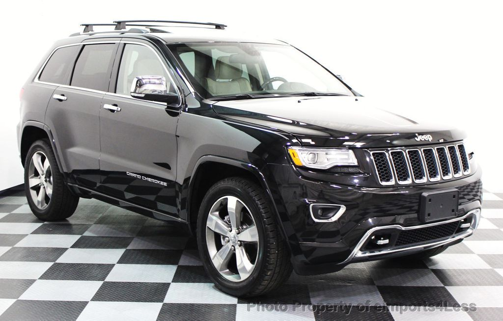 2014 Jeep Grand Cherokee CERTIFIED JEEP GRAND CHEROKEE V6 4WD OVERLAND - 16212549 - 23