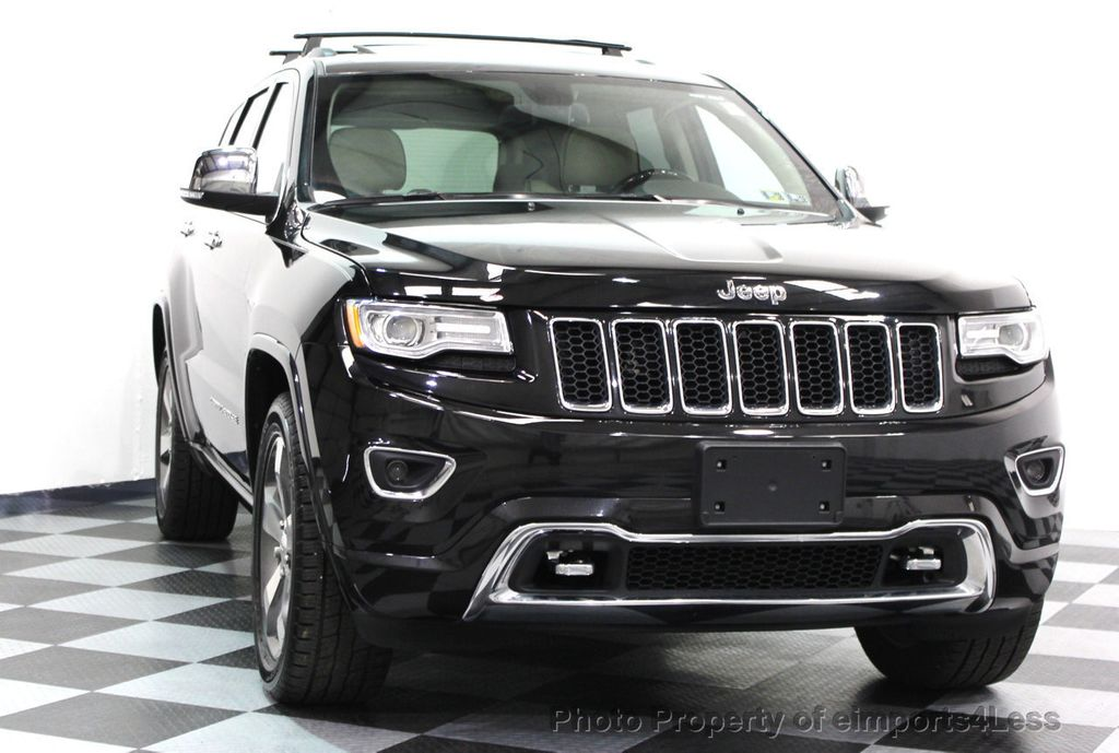 2014 Jeep Grand Cherokee CERTIFIED JEEP GRAND CHEROKEE V6 4WD OVERLAND - 16212549 - 24
